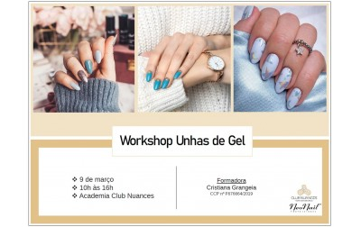 Workshop Unhas de Gel
